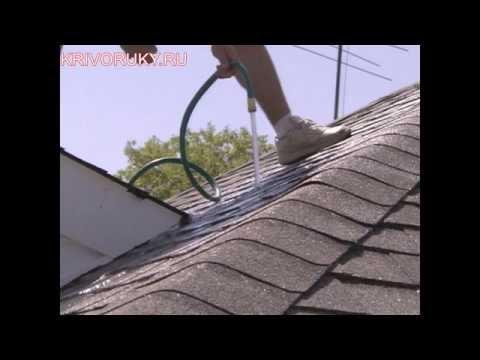 видео: Как самому найти протечки на крыше загородного дома?