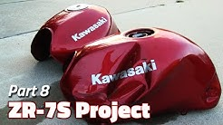 Rust Removal and Gas Tank Replacement | ZR-7S Project - Part 8
