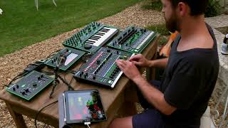 Dapayk & Roland Aira TR 8, System 1, VT 3, TB 3, MX 1 (Provence Electronica Sun Downer) Re-upload