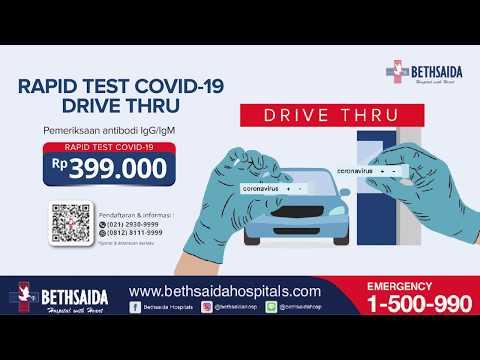 RAPID TEST COVID-19 DRIVE THRU BETHSAIDA HOSPITAL