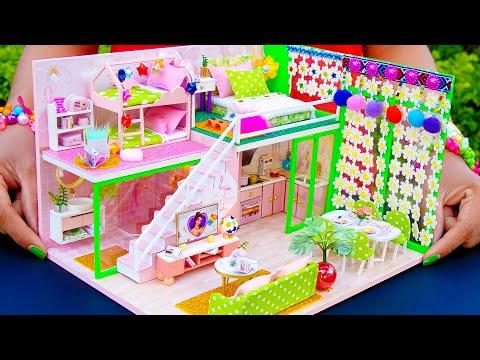 5 DIY Miniature Dollhouse Rooms Belle