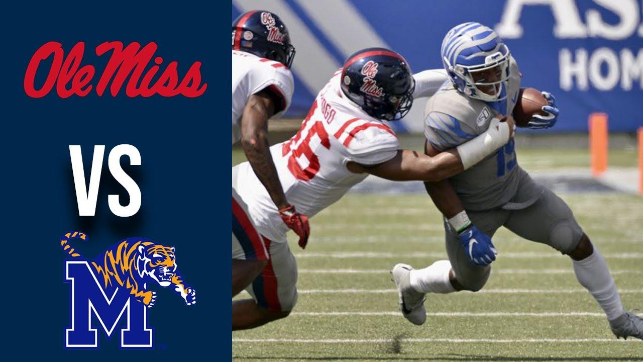 Ole Miss vs Memphis Highlights Week 1 College Football 2019