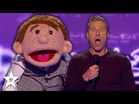 Paul Zerdin Makes Ventriloquism Come Alive on America's Got Talent: The Champions