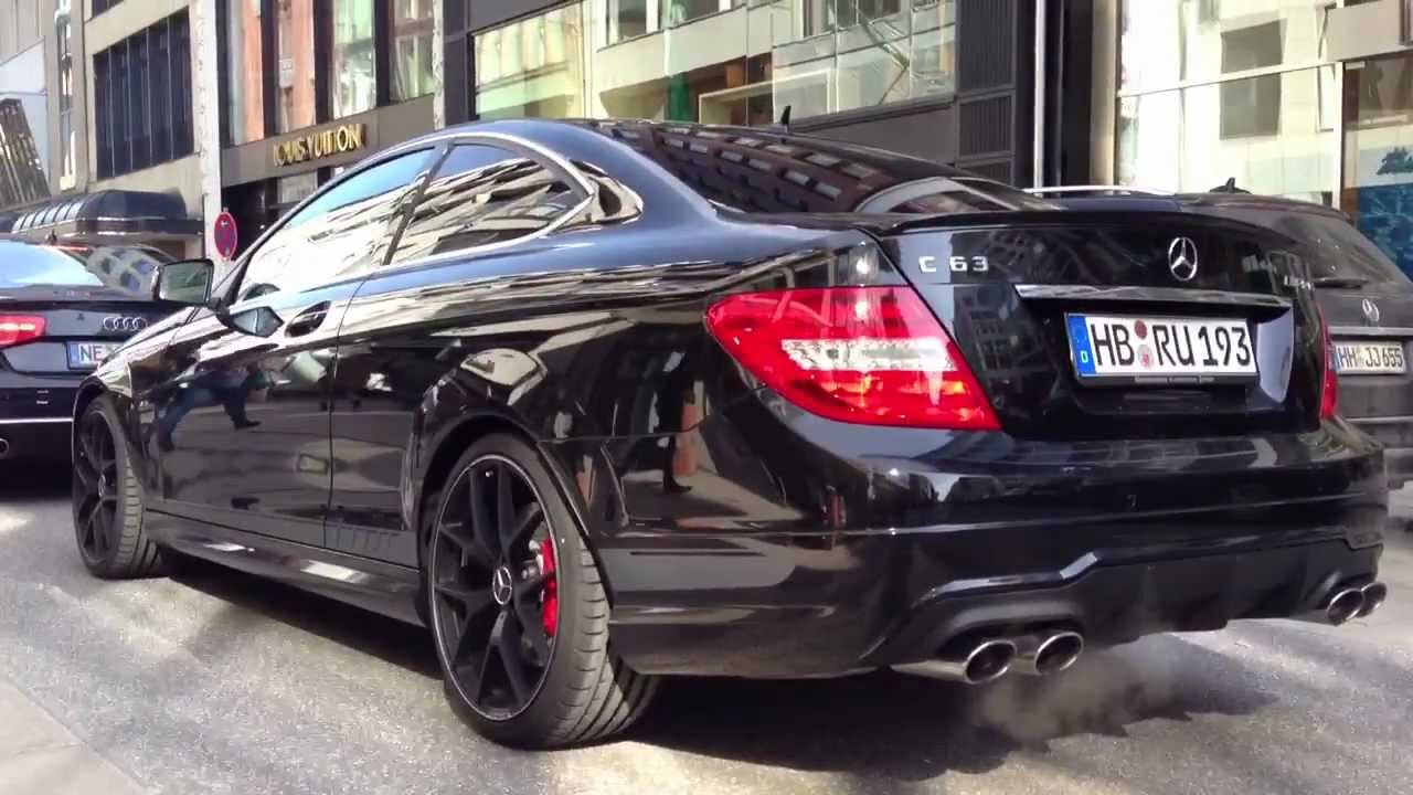2014 mercedes c63 amg edition 507 on the road youtube for Mercedes benz c63 amg edition 507