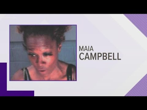 'In the House' actress Maia Campbell busted