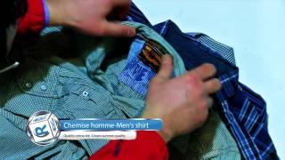 Rakitex - Chemise homme , Men's shirt (Qualité crème été- Cream summer quality)