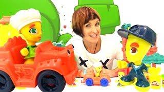 Веселая Школа с Машей Капуки Кануки - Видео для детей - Игры с Play Doh в Автосервис
