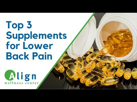 How To Relieve Lower Back Pain (Top 3 Supplements You Should Take)