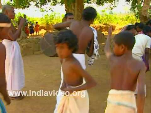 Meduva kali, tribal dance, tribal music, Wayanad, Kerala, India