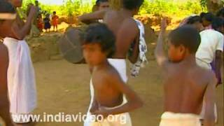 Meduva kali, tribal dance, tribal music, Wayanad, Kerala, India