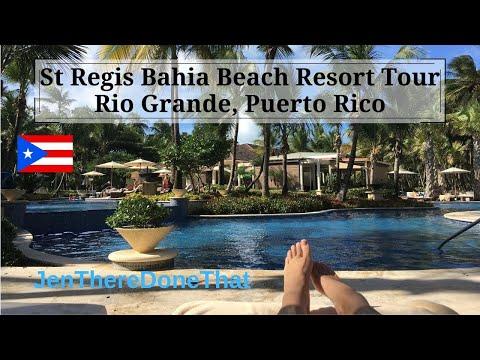 St Regis Bahia Beach Resort Tour, Puerto Rico