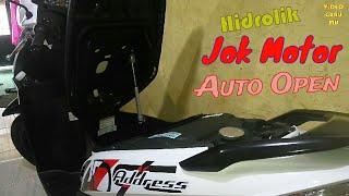 Cara Pasang Hidrolik Jok Motor Tak Perlu 2 , 1 hidrolik Pun Kuat Tested Motor Suzuki Address
