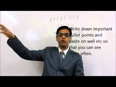 Effective Study Techniques: MUST MUST watch and implement
