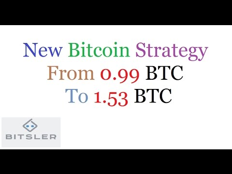 New Bitcoin Strategy | From 0.99BTC To 1.53 Btc |  SignUP Link In The Description