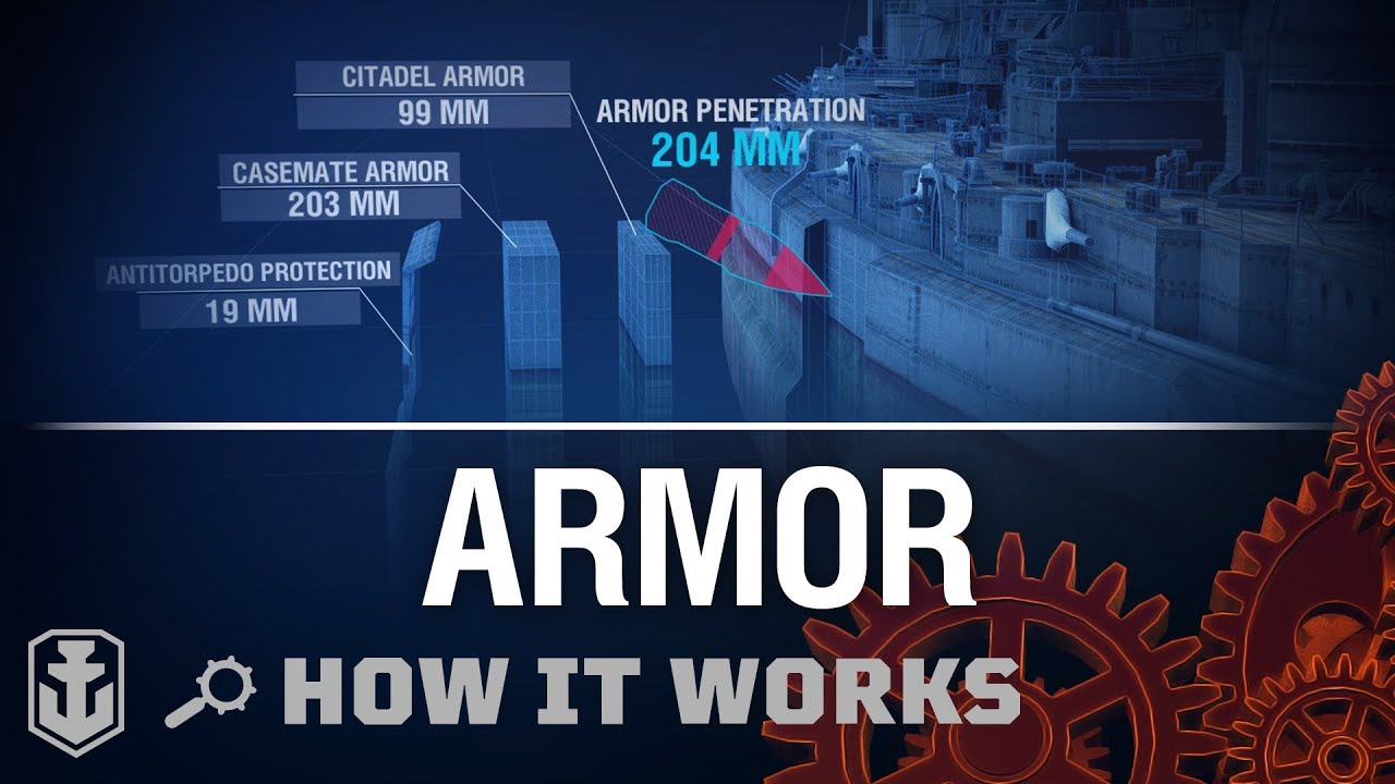 Video How it Works: Armor | World of Warships