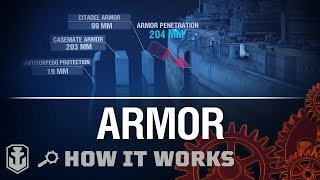 How it Works: Armor | World of Warships