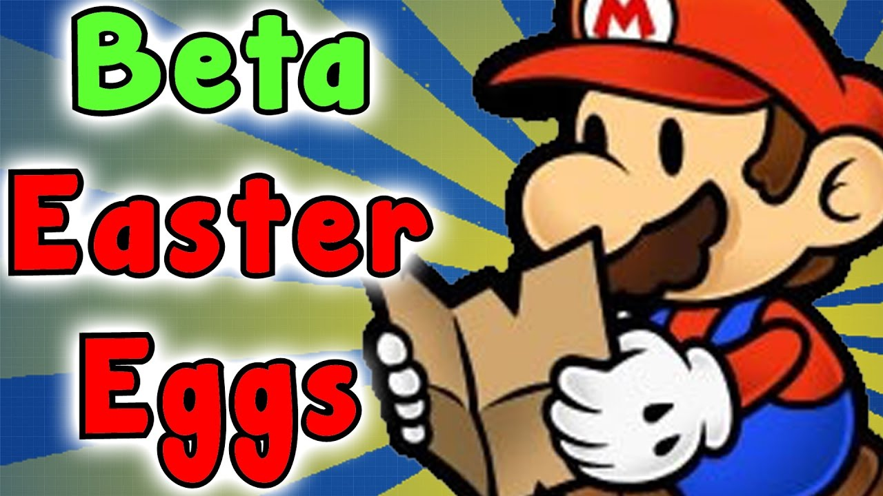Paper Mario The Thousand Year Door Beta Easter Eggs And Secrets