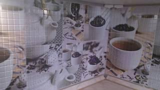 как сделать кухонный фартук из пластиковых панелей