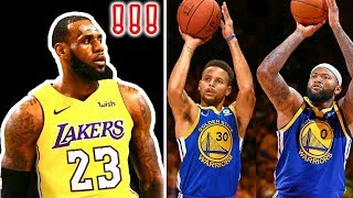 The Warriors Officially *KILLED OFF* LEBRON JAMES LEGACY/CAREER!! (DEMARCUS COUSINS ROASTS LEBRON)