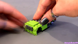 Lego Cars 2 Spy Acer With Torch 9484 Disney Pixar Toy Review How-to Build Buildable Toys