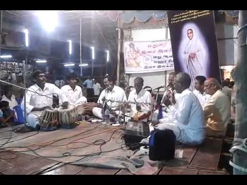 3.3.2013 Madurai Arasamaram Vinayagar Temple..St.Vallalar's life..Villupattu (3)