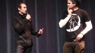 Tom Delonge, Will Eubank, and Gunner Wright LOVE Q&A  2/3