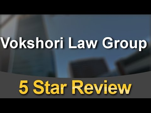 Vokshori Law Group Los Angeles          Superb           Five Star Review by Oscar P.