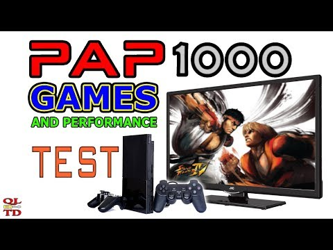 PAP 1000 games review & testing