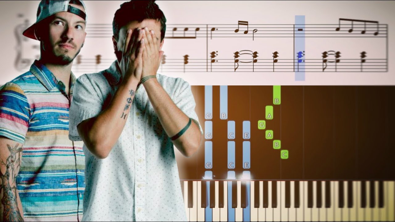 Twenty one pilots house of gold piano tutorial sheets youtube hexwebz Choice Image