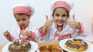 تحدي الكيك بين ماسة وسوار | تحدي تزيين الكيك | تحدي الطبخ