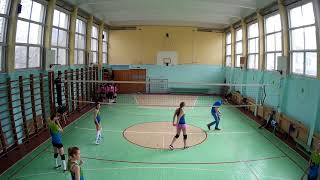 2018.04.22  Волейбол  pvl.spb.ru  Герои   Dream Team  третья партия сторона Б
