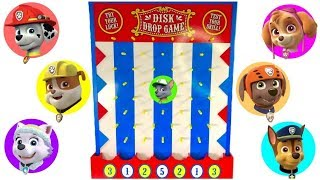 Paw Patrol Disk Drop Game Pups Find Vehicles thumbnail