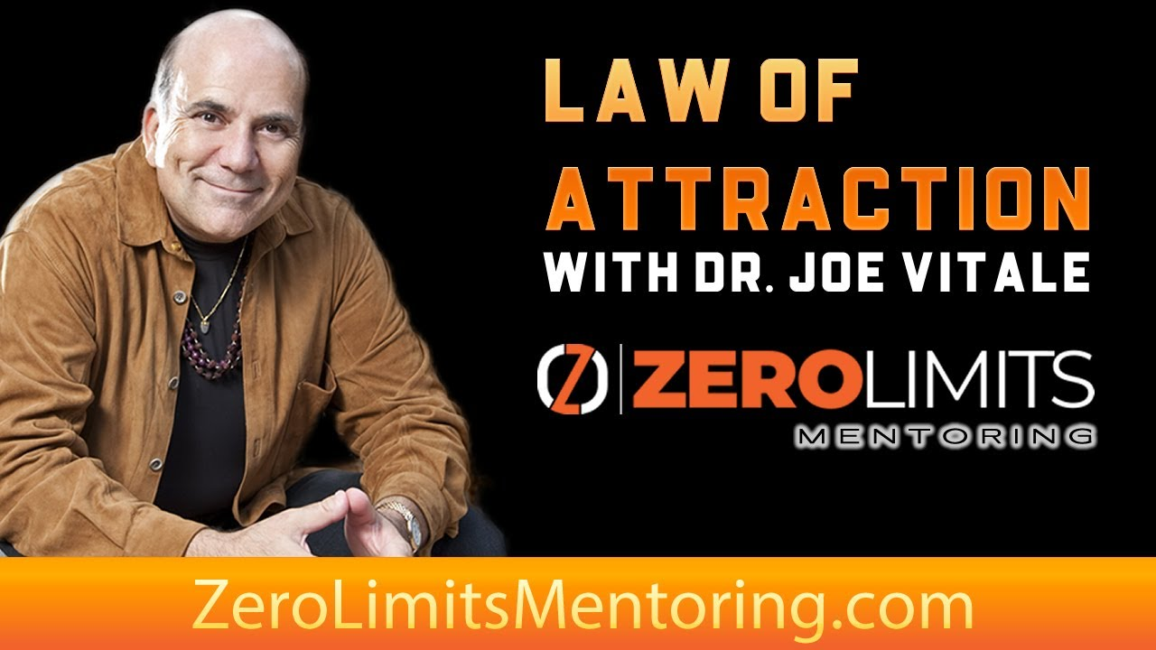 Dr. Joe Vitale - Law of Attraction tips - Intentions Rule the Earth  -Don't Skip This
