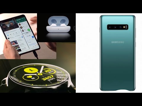 My thoughts on Samsung Galaxy Fold, Galaxy S10, Galaxy Watch Active and Galaxy Buds
