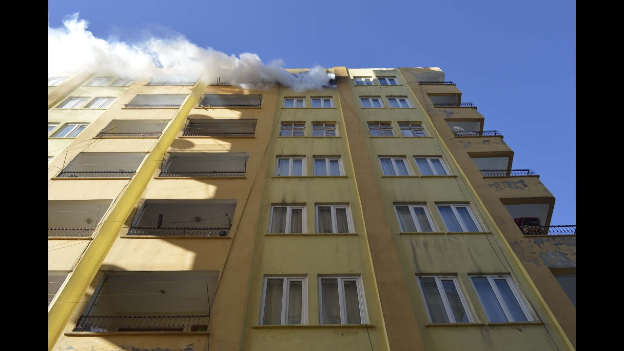 Adıyaman'da Ev Yangını Paniğe Neden Oldu