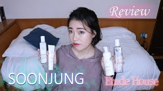 EtudeHouse SoonJung 用後心得 || EtudeHouse Soonjung Brand Review