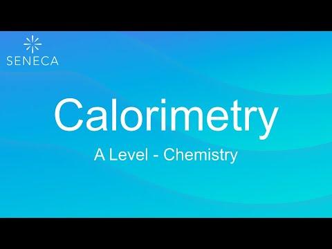 A Level Chemistry - Calorimetry - Seneca - Learn 2x Faster