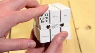 The Cube Calendar / A Year In 60 Seconds