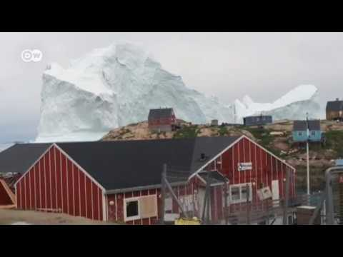 Iceberg amenaza Groenlandia