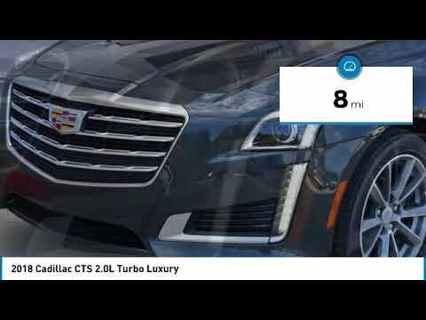 2018 Cadillac CTS Valencia CA 2181119 - YouTube