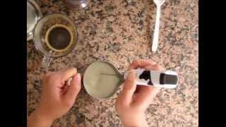 How To: Latte Art With Instant Coffee