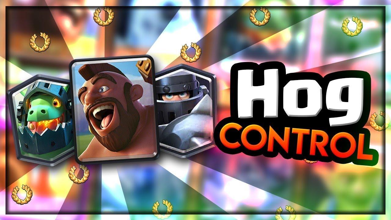 Hog Control Inferno Dragon Mega Knight Youtube
