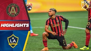 Atlanta United FC 3-0 LA Galaxy | Josef Martinez Scores! | HIGHLIGHTS
