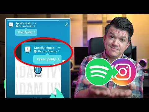 How To Link Spotify To Instagram Stories | Sell Music with Instagram
