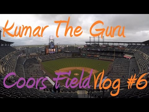Catching Bombs at Coors Field (Day 1) (Vlog #6)