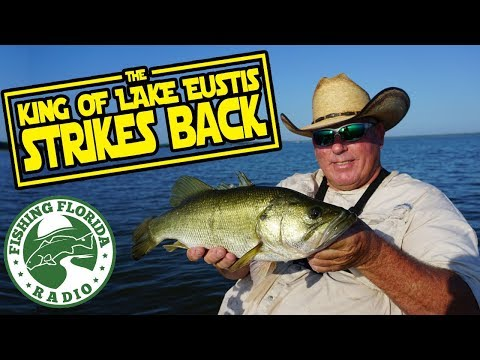 Bass Fishing With The KING OF LAKE EUSTIS Part 2 - Only Catches BIG FISH!