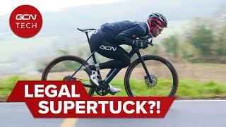 우리는 Supertuck을 합법화했습니다! | 에어로 이득을 위해 드로퍼 시트 포스트 사용!