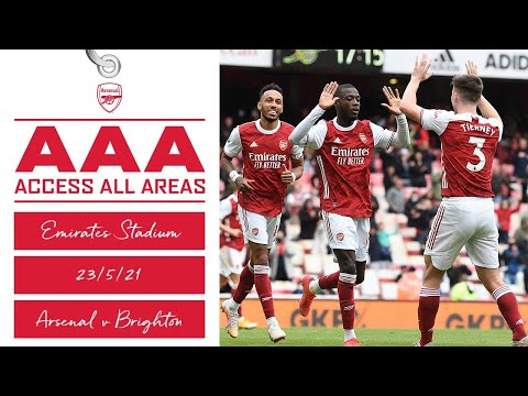 ACCESS ALL AREAS | Welcome home, Gooners! | Arsenal vs Brighton (2-0)