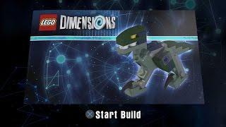 LEGO Dimensions - Velociraptor Building Instructions - Jurassic World Team Pack 71205
