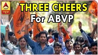 ABVP Bags President, Two Other Posts In DUSU Polls|ABP News